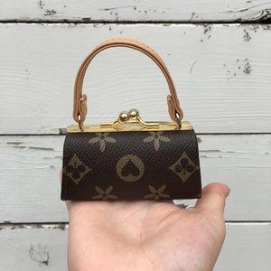 Vintage Louis Vuitton look a like mini coin purse